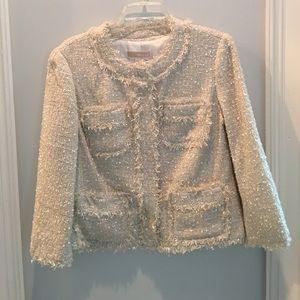 NWT Michael Kors Ivory Jacket Neiman Marcus 10